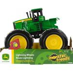 Traktor Tomy John Deere Traktor M. Monsterhjul & Lys 8''