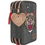 Penalhus Top Model Tiger Jeans Triple Pencil Case