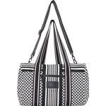 Tasker Lala Berlin Big Bag Muriel Kufiya - Off White/Black
