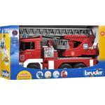 Legetøj Bruder Man Fire Engine With Selwing Ladder 2771