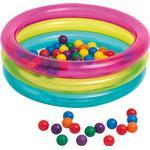 Intex Classic 3 Ring Baby Boldbassin - 50 bolde