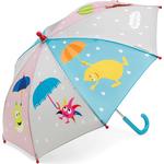 Børneparaply Micki Babblarna Umbrella Muticolor (46892614)