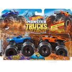 Legekøretøj Hot Wheels Monster Trucks 1:64 Demo Doubles 2 Pack