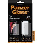 Panzer Case Friendly With Case 360 Protection for iPhone SE 2020