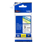 Brother P-Touch Labelling Tape 9mmx8m Black on White