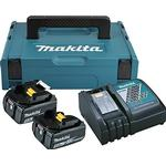 Værktøjsoplader Makita 2xBL1850B + DC18RC