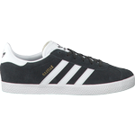 Gazelle adidas børn Børnesko Adidas Junior Gazelle - DGH Solid Grey/Cloud White/Gold Metallic