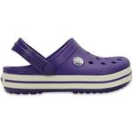 Crocs Kid's Crocband - Ultraviolet/White