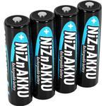 Genopladelige batterier Ansmann NiZN Mignon AA 2500mAh 4-pack