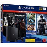 Sony PlayStation 4 Slim 1TB - PS Hits Naughty Dog Bundle