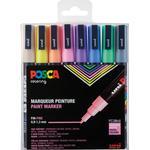 Uni Posca PC-3M Pastel Colours Fine Bullet 8-pack
