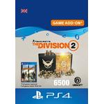 Gavekort Ubisoft Tom Clancy's The Division 2 - 6500 Premium Credits - PS4