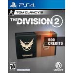 Gavekort Ubisoft Tom Clancy's The Division 2 - 500 Premium Credits - PS4