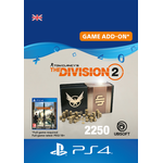 Gavekort Ubisoft Tom Clancy's The Division 2 - 2250 Premium Credits - PS4