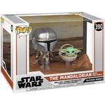 Funko Pop! Star Wars the Mandalorian & the Child Baby Yoda
