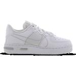 Nike Air Force 1 React GS - White/Pure Platinum