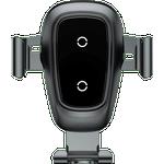 Mobiltelefon tilbehør Baseus Metal Wireless Charger Gravity Car Mount