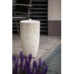Fontæner HEISSNER Vase White LED 016848-04