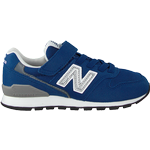 Sneakers Børnesko New Balance Kid's 996 - Deep Blue/Silver