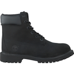Timberland Junior Premium 6 Inch Boots - Black Nubuck