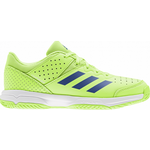 Adidas Junior Court Stabil - Signal Green/Royal Blue/Cloud White