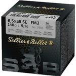 Sellier&Bellot 6.5x55 SE FMJ 140gr 50-pack