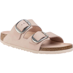 Birkenstock Arizona Big Buckle Nubuck Leather - Light Rose