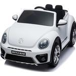 VW Beetle Dune Elbil 12V Gummihjul + Lædersæde