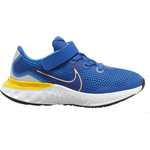 Nike run renew Børnesko Nike Renew Run PSV - Game Royal/Photo Blue/Black/Metallic Silver