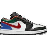 Nike Air Jordan 1 Low SE W - White/Black/Multi-Color