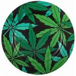 Flad tallerken Seletti Weed Flad tallerken 27 cm