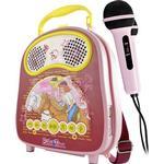 X4-Tech Bobby Joey Casey Music Bibi Tina Karaoke System with Microphone