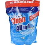 Clean All in 1 90 Tablets