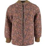 Wheat Loui Thermo Jacket - Ink Flowers
