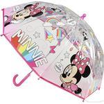 Gennemsigtig paraply Cerda Poe Manual Minnie Umbrella Multicolour (2400000476)