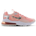 Nike Air Max 270 React GS - Bleached Coral/White/Echo Pink/White