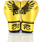 Kampsport Fairtex® Gold Falcon Limited Edition Boxing Gloves 10oz