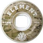 Skateboard Element Camo Griffin 53mm 99A 4-pack