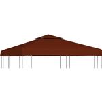 Pavillon tag vidaXL 2-Tier Gazebo Top Cover 310 g/m² 3x3m