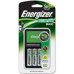 Batterioplader Energizer NiMH Battery Charger + AA 2000mAh Battery 4-pack