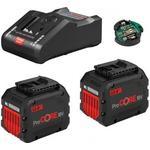 Bosch Starter Set 2 x ProCORE18V 12.0Ah + GAL 18V-160 C + GCY 42 Professional
