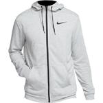 Nike Dri-FIT Full-Zip Training Hoodie Men - Dark Grey Heather/Black