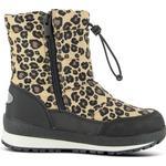 Uforede vinterstøvler Børnesko Leaf Ilsbo - Leopard