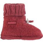 Joha Wool Booties - Red