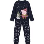 Name It Peppa Pig Christmas Nightwear - Blue/Dark Sapphire (13184776)