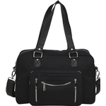 Håndtasker Núnoo Mille Recycled Canvas - Black