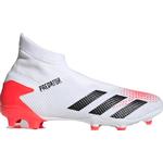 Adidas Predator 20.3 Laceless FG - Cloud White/Core Black/Pop