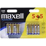 Fjernbetjeningsbatterier Maxell LR03 AAA Compatible 10-pack