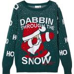 Name It Dabbin Jule Sweater - Mega Bold Green (13176980)