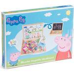 Peppa Pig Gurli Gris 3 in 1 Wooden Magnetic Blackboard